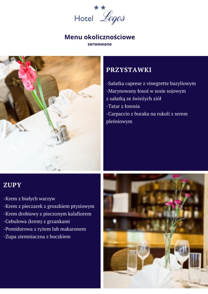 Menu Restauracja Gdańsk
