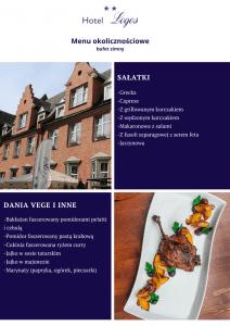 Wesela Gdańsk menu