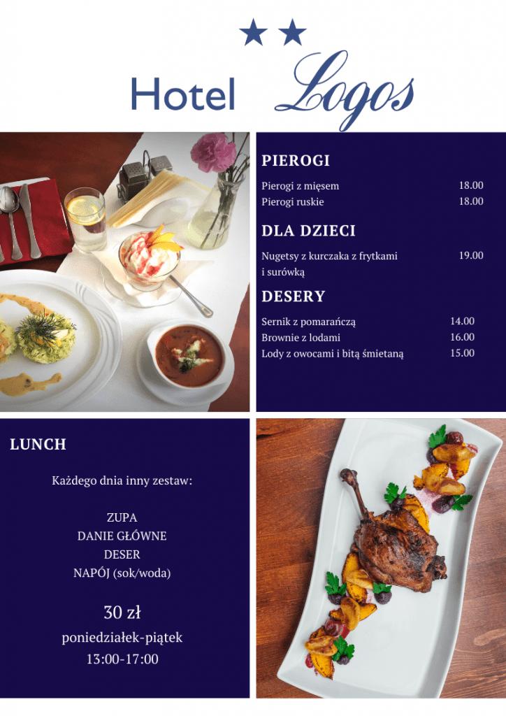 Restauracja Gdańsk Menu