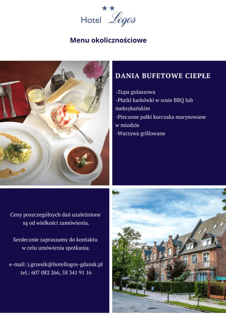 Wesela menu Logos